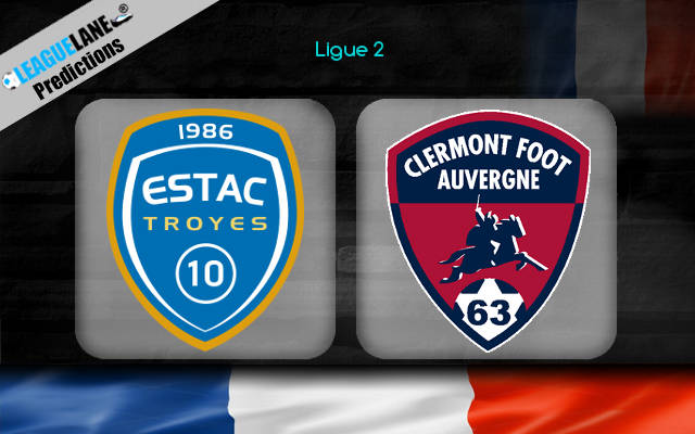 Troyes vs Clermont