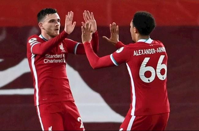Arnold va Robertson cua Liverpool