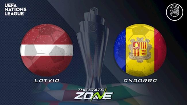 Latvia vs Andorra 23h00 ngày 39 Nations League hình ảnh