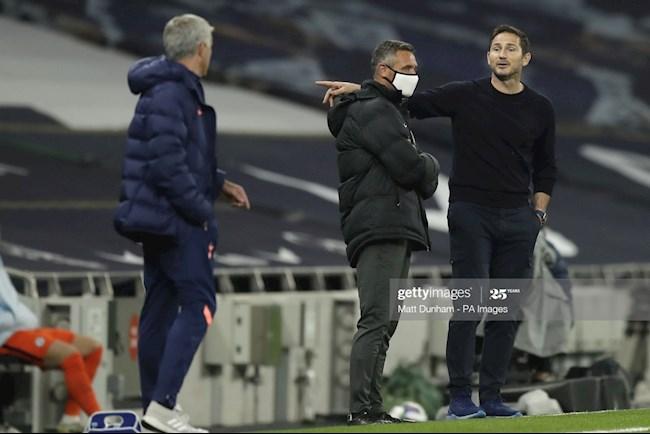 HLV Frank Lampard chỉ trích thầy cũ Jose Mourinho hình ảnh