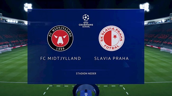 Midtjylland vs Slavia Praha