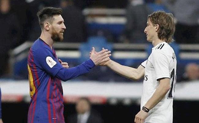 Modric tin Barca không suy giảm sức mạnh nếu Messi ra đi hình ảnh
