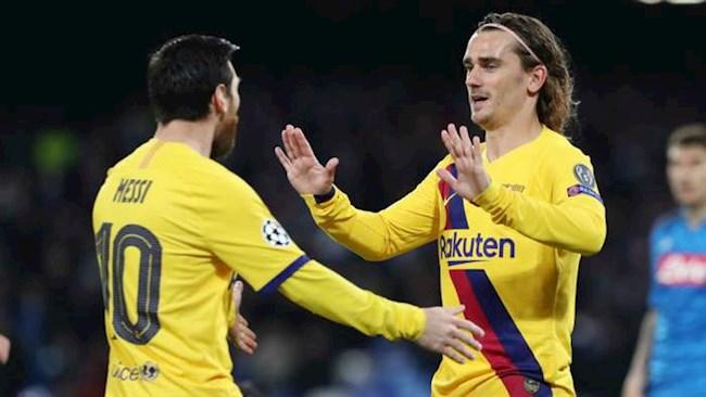 Griezmann hy vọng Messi sẽ ở lại Barca hình ảnh