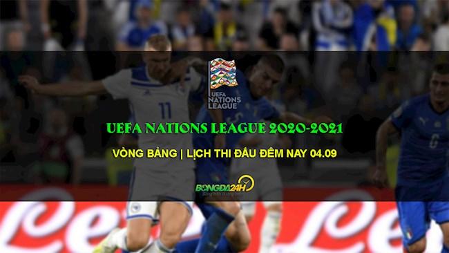 Lịch thi đấu Nations League hôm nay 492020 - K+ trực tiếp hình ảnh