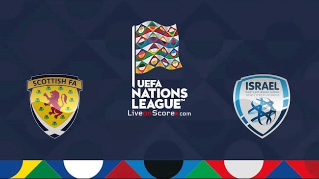 Scotland vs Israel 1h45 ngày 59 Nations League hình ảnh