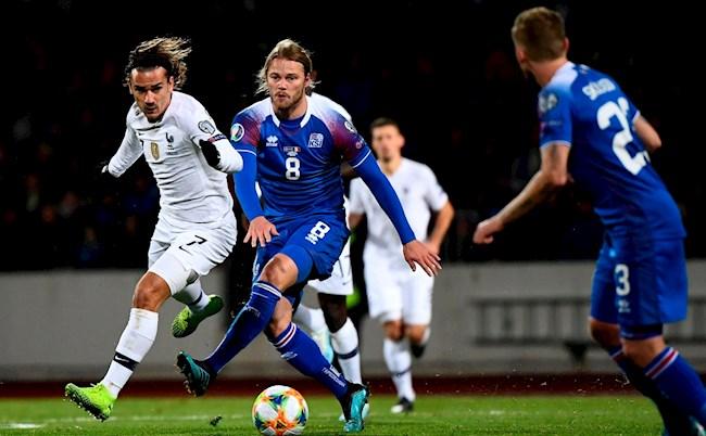 Iceland 0-1 France