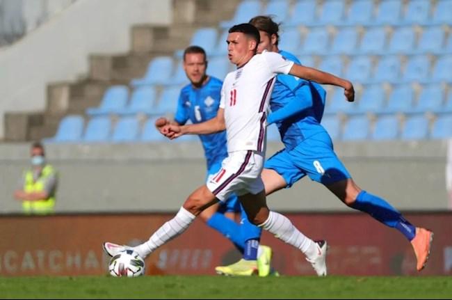 Iceland 0-1 Anh Foden ra mat