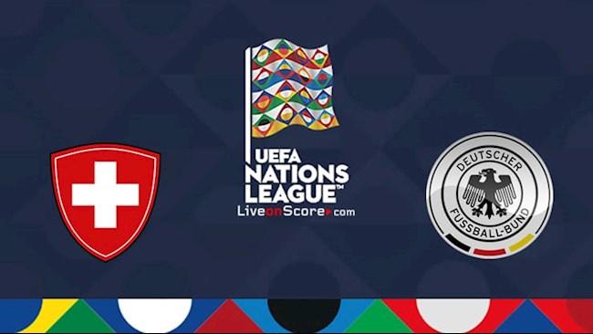 Trực tiếp Thụy Sĩ vs Đức hôm nay 79 Nations League 202021 hình ảnh