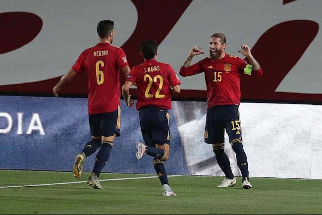 Kết quả bàn thắng Tây Ban Nha vs Ukraine 4-0 Nations League hình ảnh