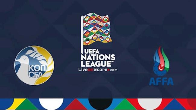 Síp vs Azerbaijan 1h45 ngày 89 Nations League hình ảnh