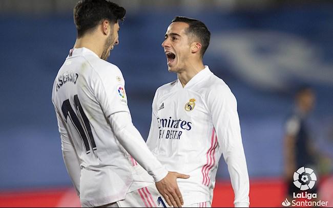 Ket qua video Real Madrid vs Celta Vigo: Bo doi Vazquez va Asensio giup Real co chien thang dau nam moi