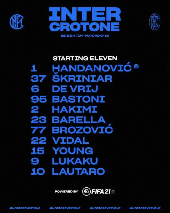 Video Kết quả Inter Milan vs Crotone clip Serie A 2021 hình ảnh