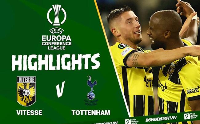 Video Vitesse vs Tottenham Europa Conference League 2021