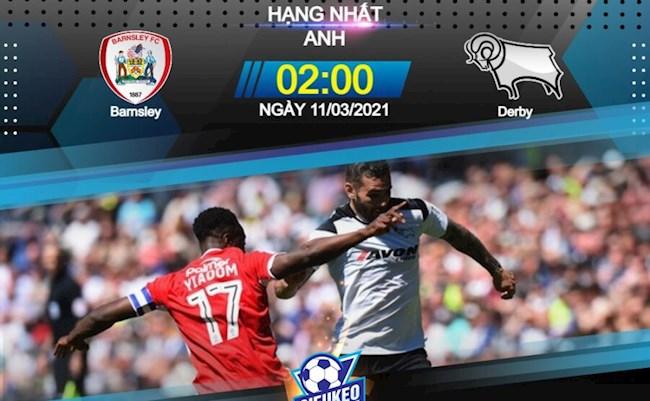 Barnsley vs Derby County