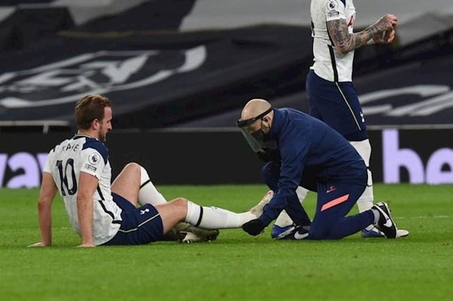 Dính chấn thương, Kane đối mặt nguy cơ lỡ đại chiến với Arsenal hình ảnh
