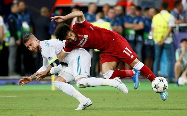 Vừa hay tin gặp Ramos ở C1, Mohamed Salah đã đi tập cơ vai hình ảnh
