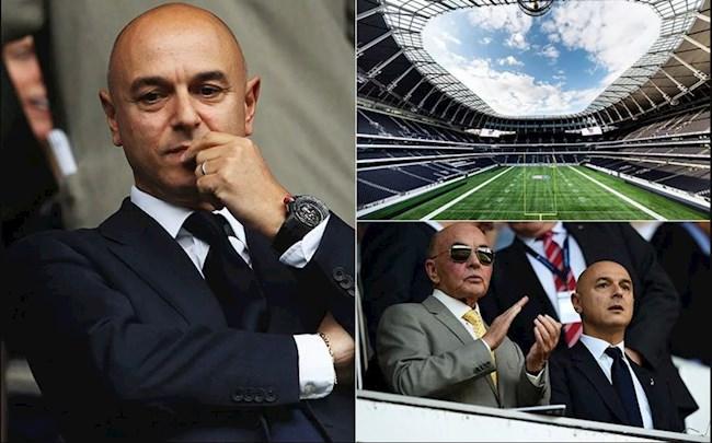 Daniel Levy và những tham vọng còn dang dở Tottenham Hotspur lazyload