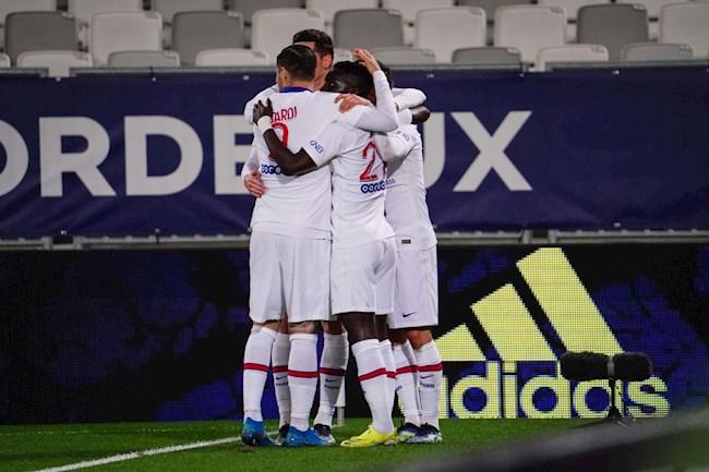 Đánh bại Bordeaux, PSG duy trì sức ép lên ngôi đầu
