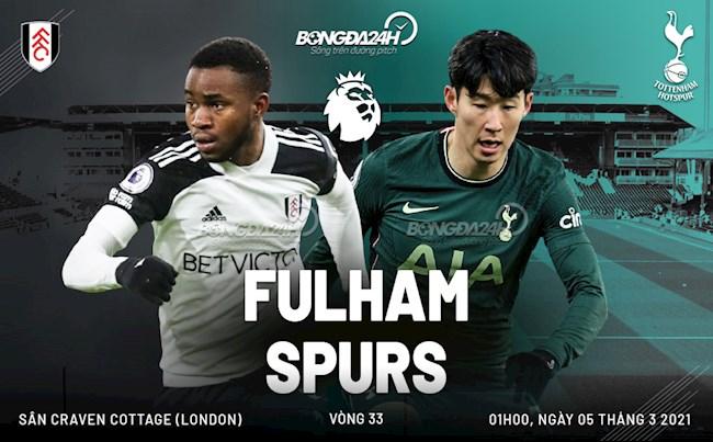 Nhận định Fulham vs Tottenham (01h00 ngày 5/3):