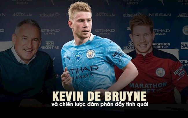 Kevin De Bruyne và chiến lược đàm phán đầy tinh quái lazyload