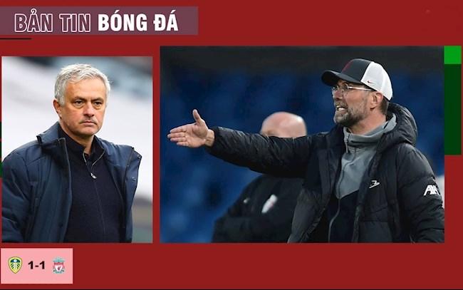 TIN NÓNG BÓNG ĐÁ 20/4: Liverpool mất điểm trước Leeds, Mourinho bị sa thải; Bóng đá hỗn loạn vì Super League