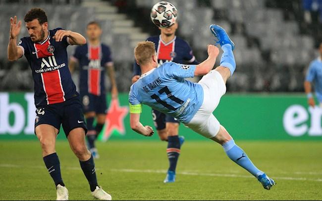 Kết quả cúp C1 PSG vs Man City: link xem video bàn thắng