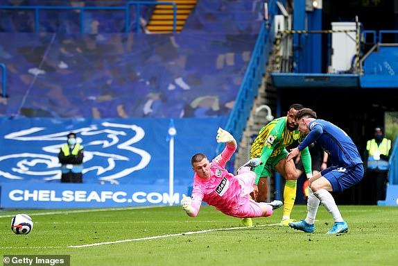 Mason Mount mang về bàn thắng thứ 2 cho Chelsea