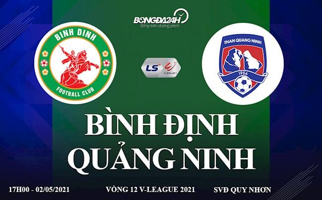 Trực tiếp bóng đá Việt Nam: Bình Định vs Quảng Ninh link xem ở đâu ?