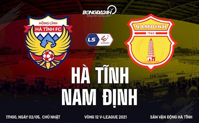 Video bóng đá Hà Tĩnh vs Nam Định vòng 12 V-League 2021: Sôi động kịch tính