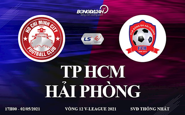 Trực tiếp bóng đá Việt Nam: TPHCM vs Hải Phòng link xem ở đâu ?