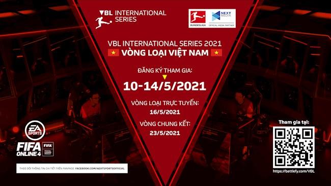 Tranh Tài Cùng Game Thủ Bốn Phương Tại VBL International Series 2021