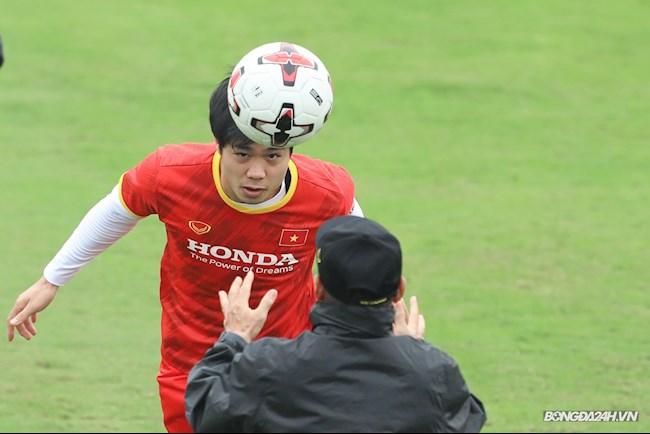 ĐT Việt Nam luyện không chiến cho mục tiêu giành 4-6 điểm