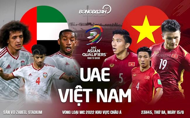 Nhận định ĐT Việt Nam vs UAE