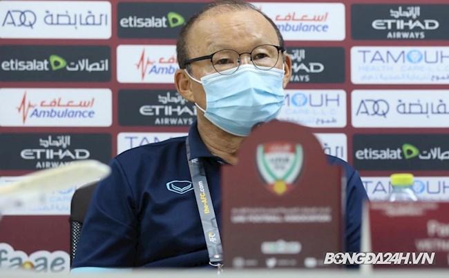 HLV Park Hang Seo trả lời họp báo trước trận gặp UAE 14/6