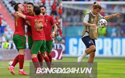 Link xem trực tiếp Euro 2020: Bồ Đào Nha vs Pháp VTV3