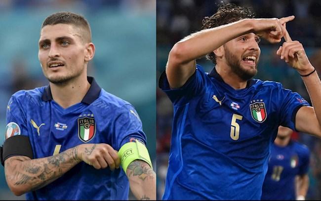 Đội tuyển Italy: Chọn Locatelli hay Verratti?