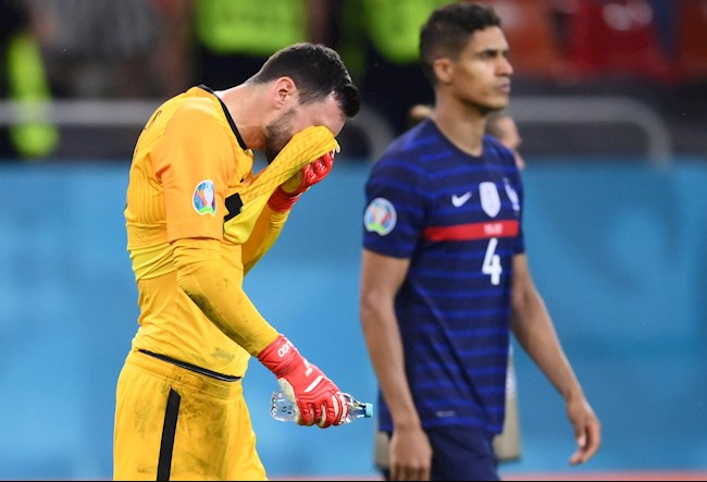 France's disappointment after losing to Switzerland