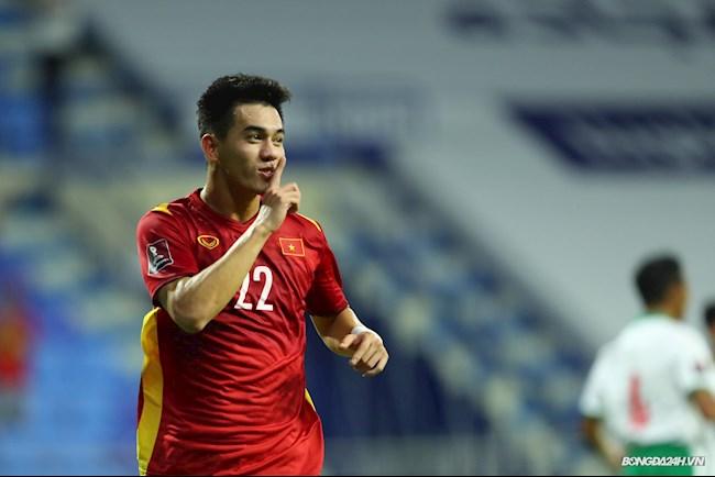 Tiến Linh cần thêm một bàn thắng để lập cột mốc mới trên tuyển