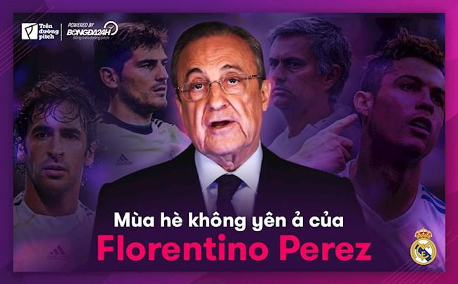 Mùa hè không yên ả của Florentino Perez