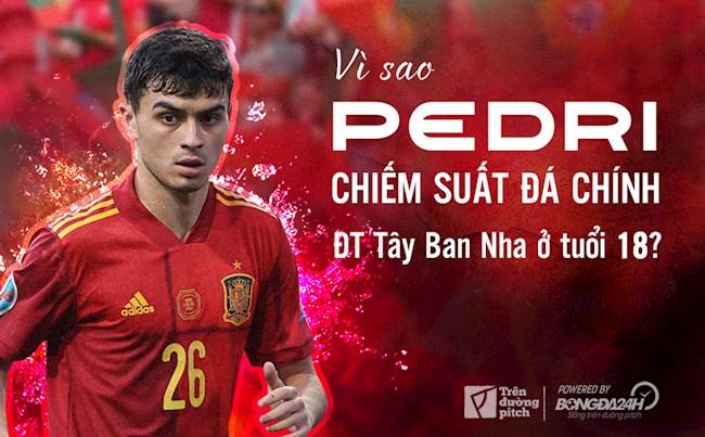 Vì sao Pedri chiếm suất đá chính ĐT Tây Ban Nha ở tuổi 18?