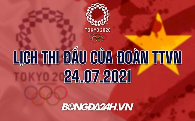 Lịch thi đấu của Đoàn TTVN tại Olympic 2020 hôm nay 24/7: Cầu lông, Bắn súng tham chiến