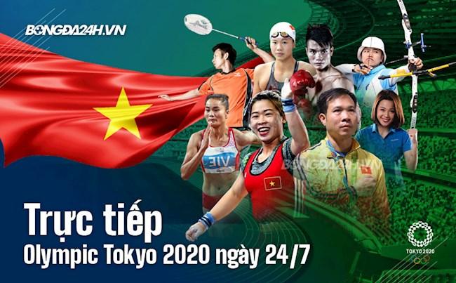 Trực tiếp Olympic Tokyo 2020 ngày 24/7: Trương Thị Kim Tuyền để thua trước người Thái