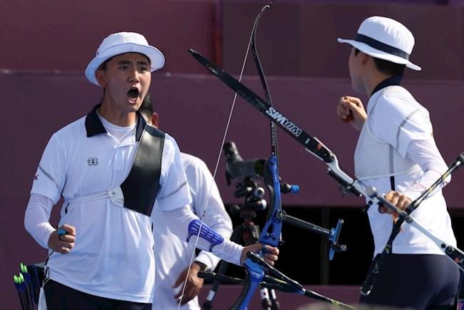 Hàn Quốc bắt đầu khai thác mỏ vàng Olympic ở môn bắn cung