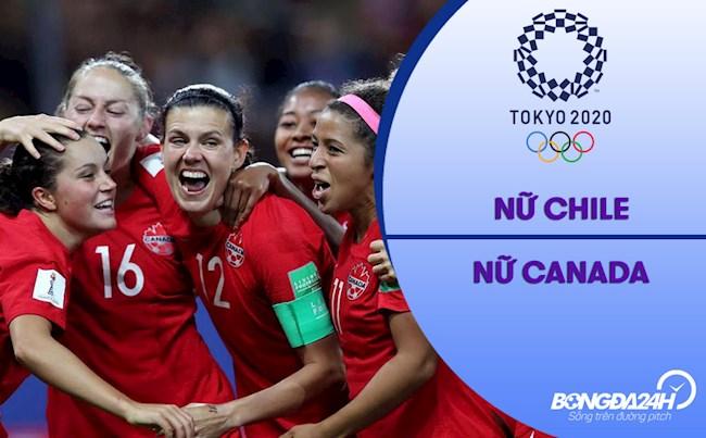 Video tổng hợp nữ Chile vs nữ Canada (Vòng bảng Bóng đá nữ Olympic 2020)