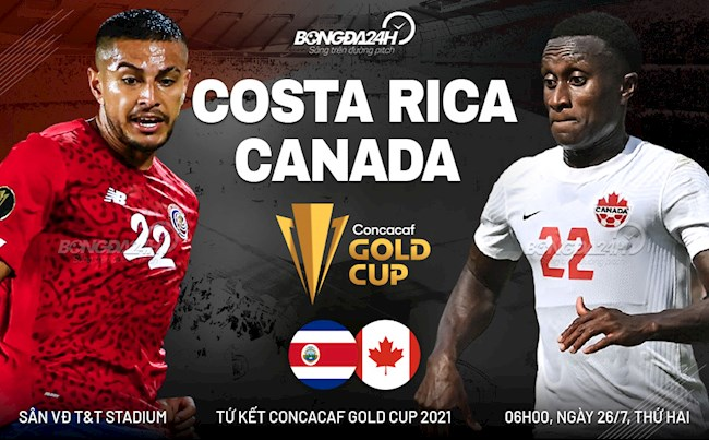 Link to watch the Gold Cup live: Costa Rica vs Canada