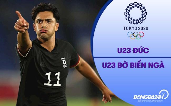 Video bóng đá: Đức 1-1 Bờ Biển Ngà (Vòng bảng Bóng đá nam Olympic 2020)