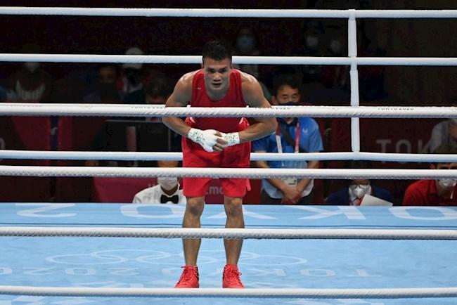 Nguyễn Văn Đương rời Olympic Tokyo sau thất bại toàn diện trước võ sĩ Mông Cổ
