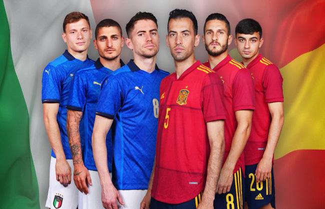 Trực tiếp Italia vs Tây Ban Nha