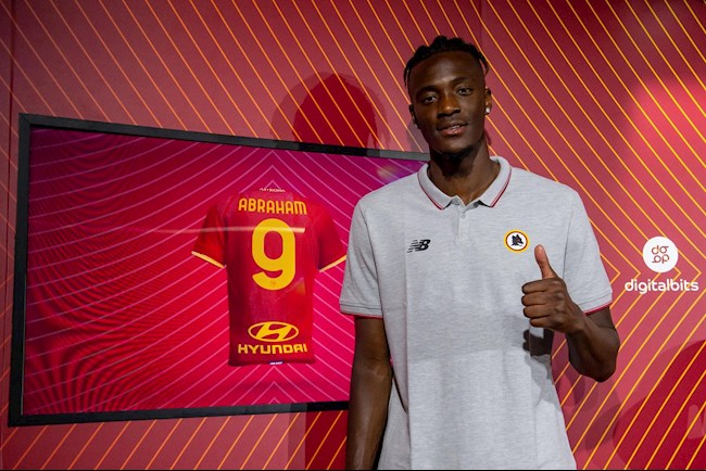 Tammy Abraham officially debuts Roma