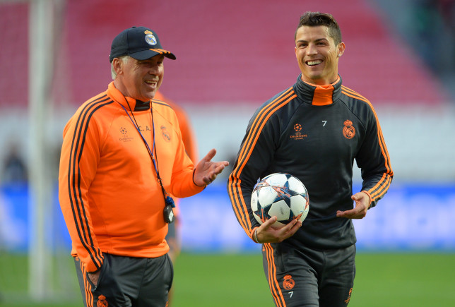 Coach Carlo Ancelotti officially spoke about the possibility of Ronaldo returning to Real Madrid